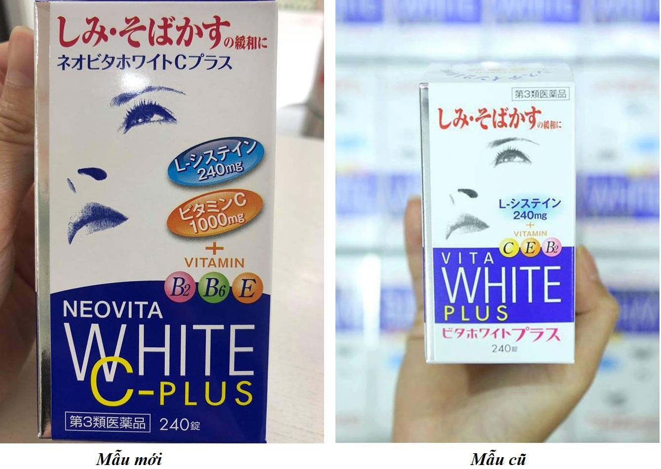 Viên Uống Hỗ Trợ Trắng Da Vita White Plus Của Nhật