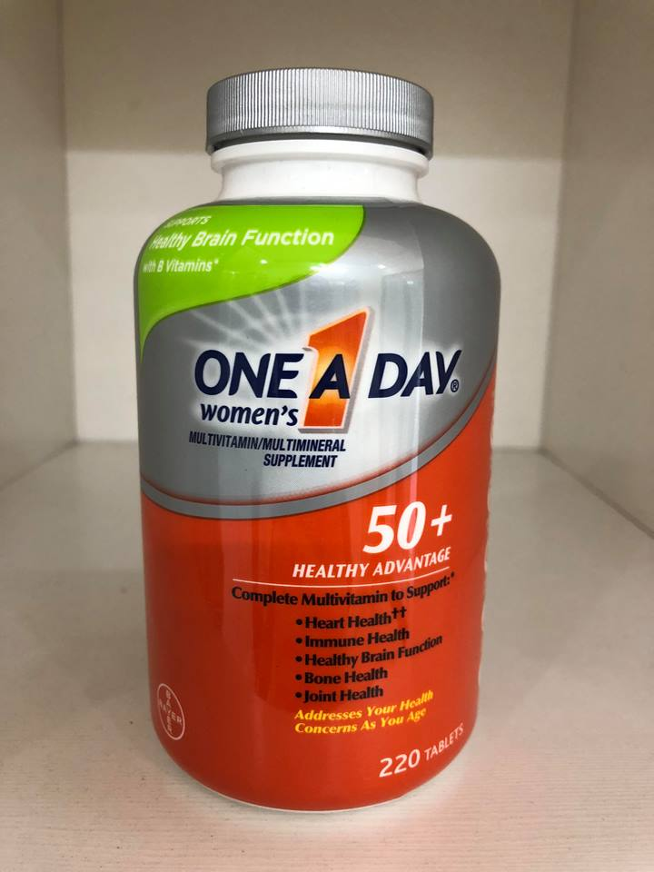 One A Day For Women 50+ hộp 220 viên