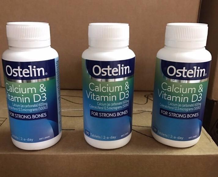 Vitamin D & Calcium Ostelin Của Úc