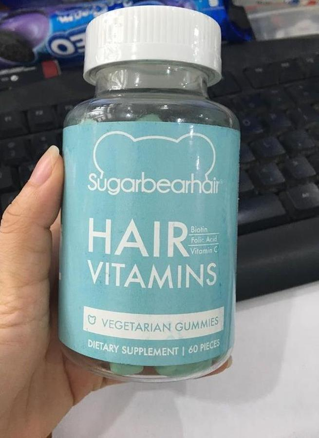 Kẹo Gấu Sugar Bear Hair – Hỗ Trợ Tóc Mọc Nhanh