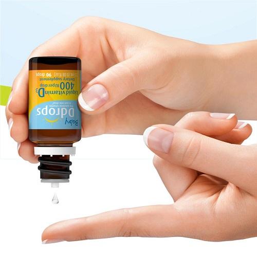Baby drops vitamin D3 có tốt không, mẹ nên mua loại nào 2