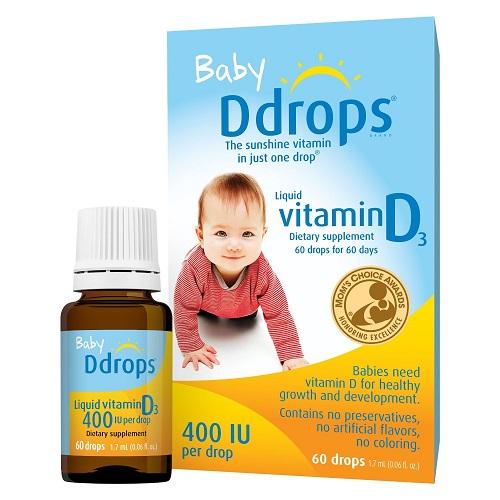Baby drops vitamin D3 có tốt không, mẹ nên mua loại nào 3
