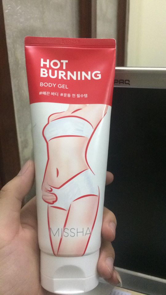 Kem tan mỡ Missha Hot Burning Perfect Body Gel  1