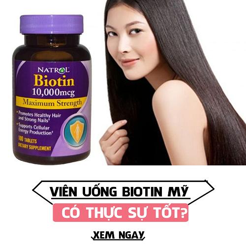 Thuốc mọc tóc Biotin nên uống vào lúc nào không gây hại cho sức khỏe 2