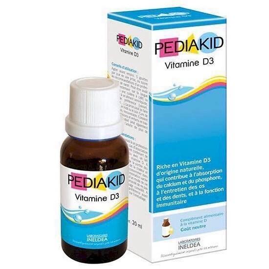 Vitamin D3 Pediakid Dạng Nước Của Pháp 20ml