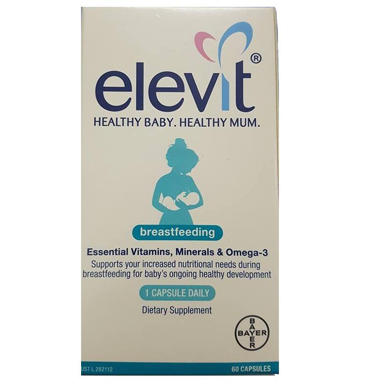 Elevit Breastfeeding Cho Phụ Nữ Sau Sinh Của Úc