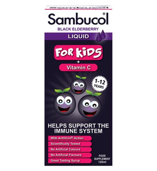 Siro Sambucol Dành Cho Trẻ Từ 1-12 Tuổi