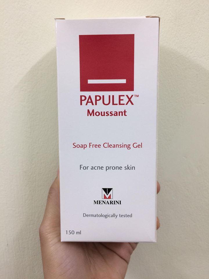 Sữa Rửa Mặt Hỗ Trợ Cải Thiện Mụn Papulex Moussant Cleansing