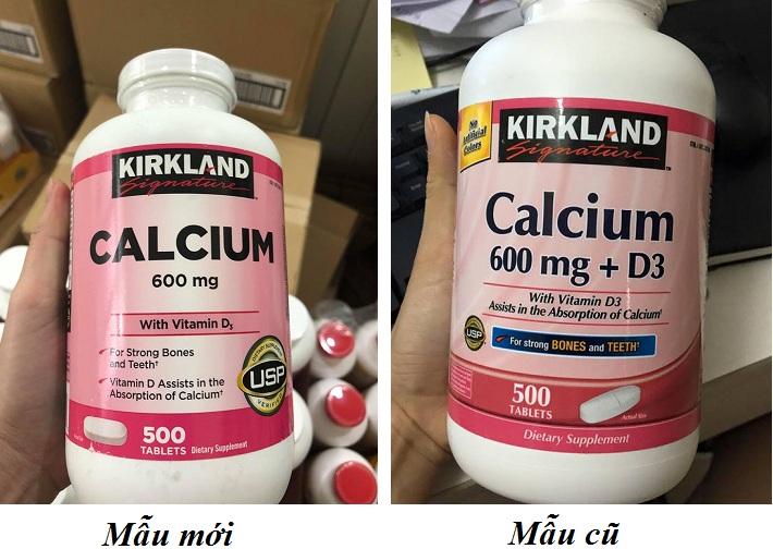 Viên Uống Hỗ Trợ Bổ Sung Calcium + D3 Kirkland Của Mỹ