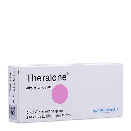 Thuốc Điều Trị Mất Ngủ Theralene (5mg)- Xuất Xứ Pháp