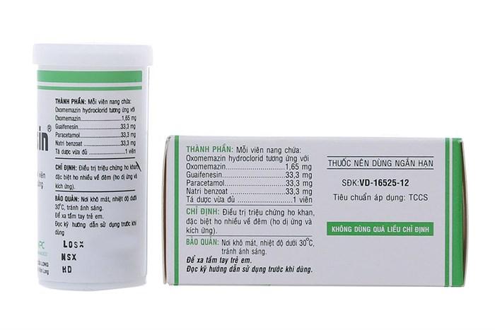 Thuốc Điều Trị Ho Khan Topralsin - Tuýp 24 Viên