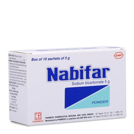 Thuốc Vệ Sinh Vùng Kín Phụ Nữ, Khử Mùi Hôi Nabifar