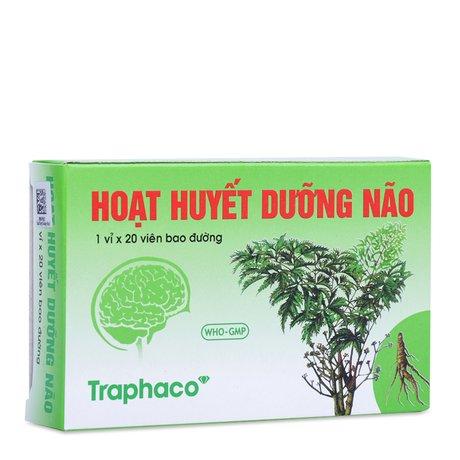 Huyết Dưỡng Não Traphaco- Phòng Và Trị Các Bệnh Giảm Trí Nhớ