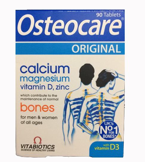 Viên Uống Canxi Osteocare Dạng Viên Của Anh