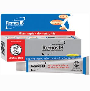 Thuốc Điều Trị Côn Trùng Cắn Remos IB (Tuýp 10g)