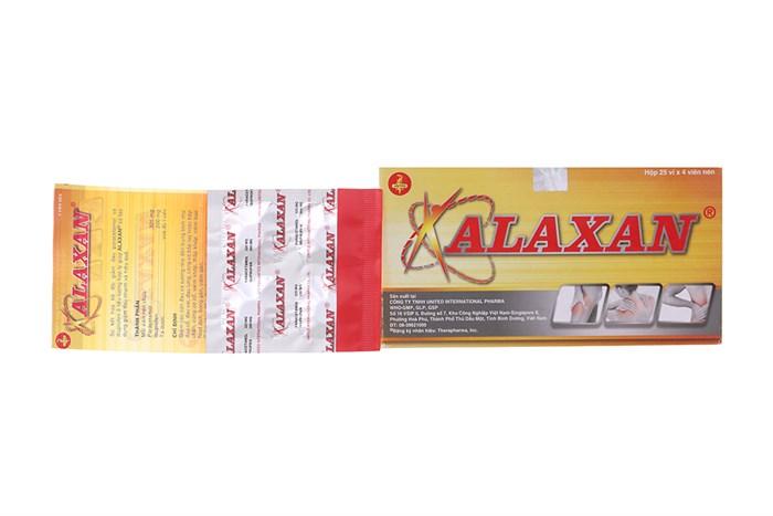 Thuốc Giảm Đau, Kháng Viêm Alaxan 1 Vỉ X 4 Viên