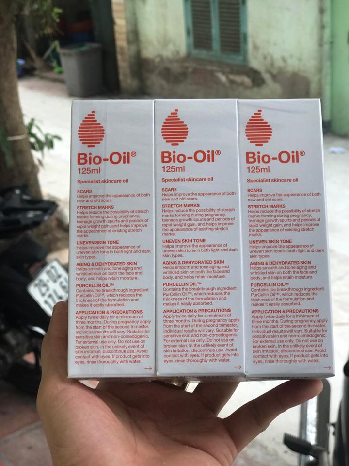 Bio Oil - Tinh Dầu Hỗ Trợ Cải Thiện Sẹo, Rạn Da Của Úc