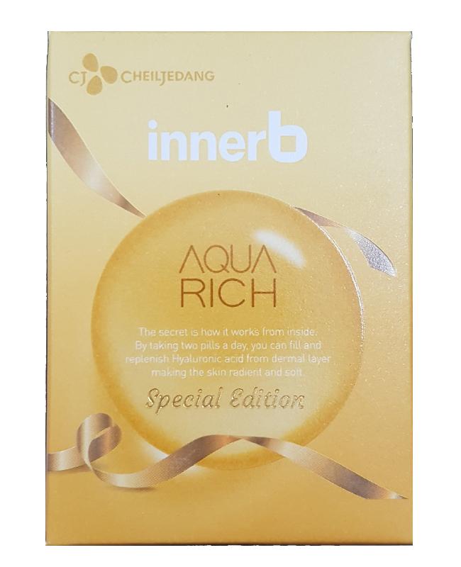 Viên Uống Hỗ Trợ Cấp Nước Bổ Sung Collage Aqua Rich Innerb