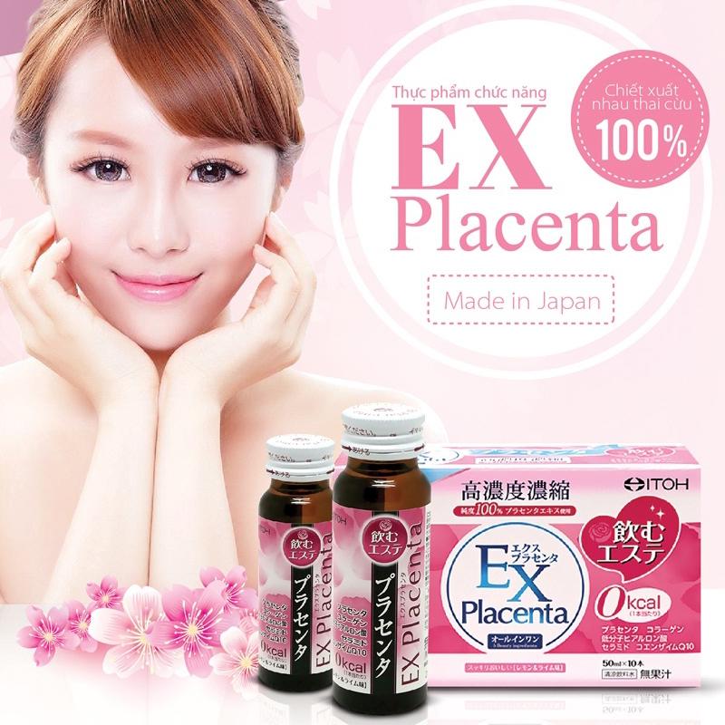 Nước Uống Nhau Thai Cừu EX Placenta Nhật Bản Chính Hãng