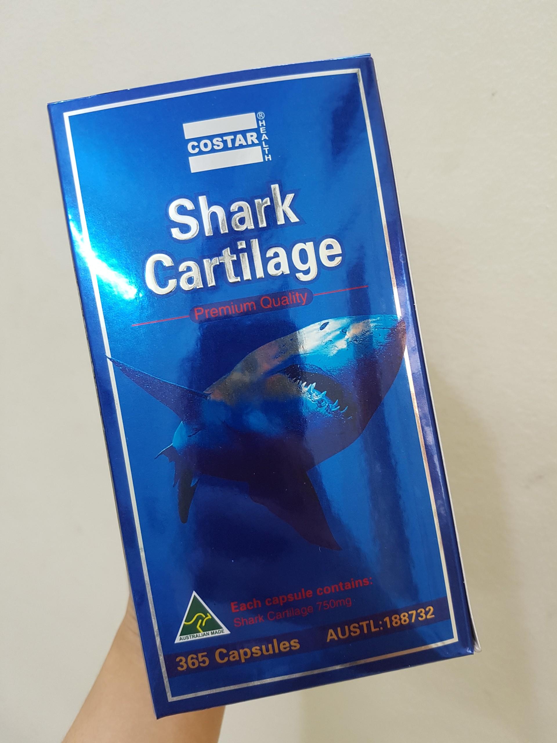 Sụn Cá Mập Costar Blue Shark Cartilage Của Úc