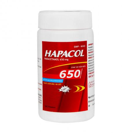 Hapacol 650 Là Thuốc Gì, Dùng Cho Đối Tượng Nào