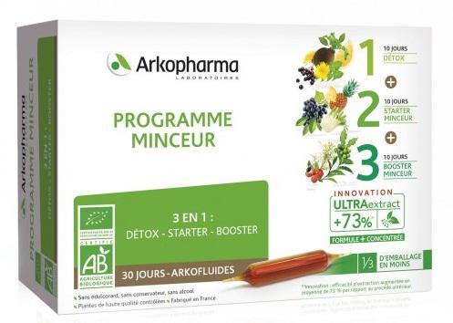 Arkopharma Programme Minceur 3 Giai Đoạn