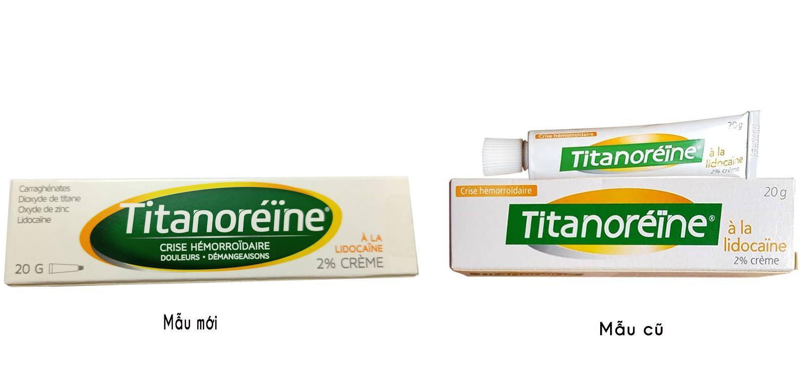 Kem Bôi Titanoreine Của Pháp