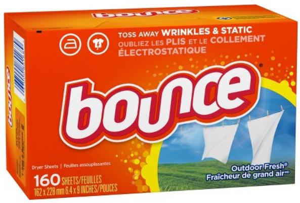 Giấy Thơm Bounce Outdoor Fresh 160 Tờ Của Mỹ