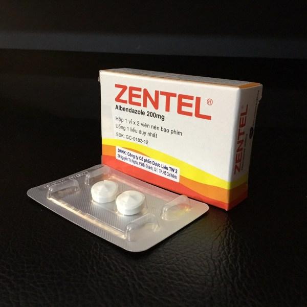 Thuốc Zentel Là Thuốc Gì? Có Tốt Không? Uống Vào Lúc Nào?