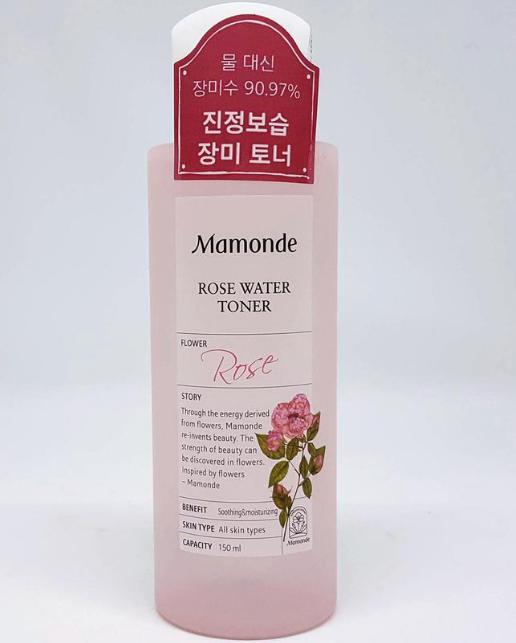 Nước Hoa Hồng Mamonde Rose Water Toner Hỗ Trợ Cấp Ẩm, Mịn Da