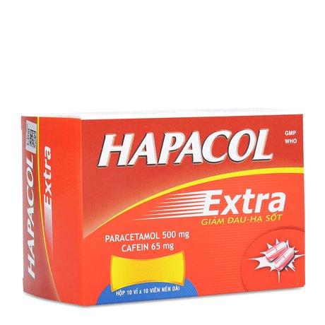 [Thắc Mắc] Thuốc Giảm Đau- Hạ Sốt Hapacol Extra Có Tốt Không?