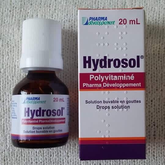 Dung Dịch Uống Hydrosol Polyvitamine Cho Trẻ Biếng Ăn