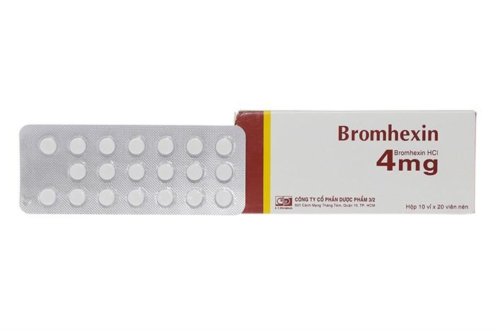 Bromhexin Là Thuốc Gì? Khi Dùng Thuốc Cần Lưu Ý Những Gì?