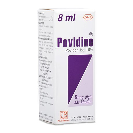 Povidine Iod 10 Là Thuốc Gì? Hướng Dẫn Sử Dụng An Toàn?