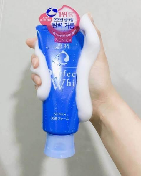 Sữa Rửa Mặt Shiseido Perfect Whip 120g