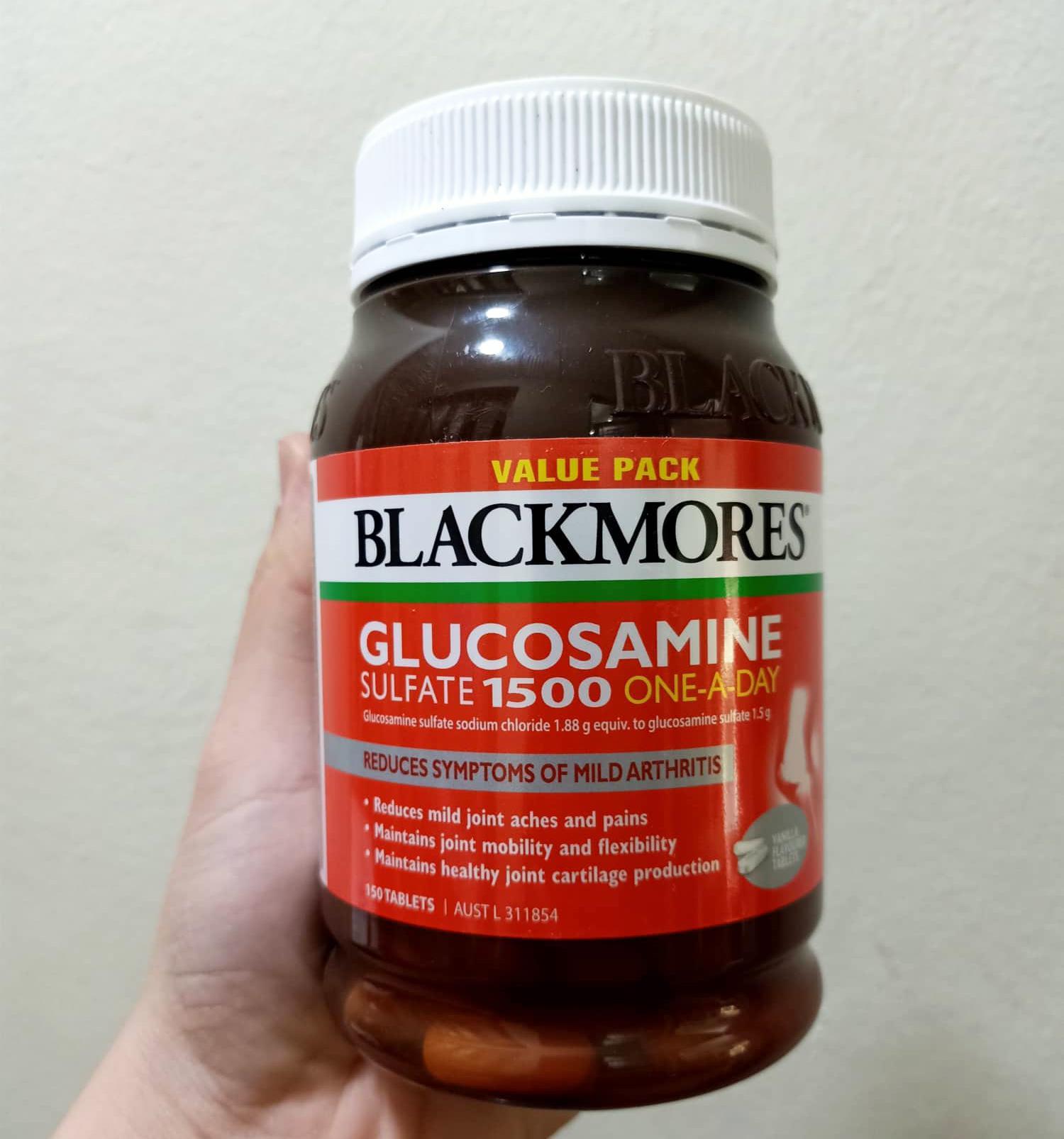 Viên Uống Blackmores Glucosamine 1500mg Của Úc