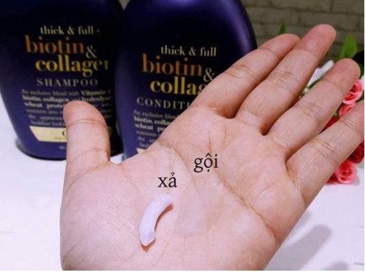 [Nên Đọc] Hướng Dẫn 'Mẹo' Phân Biệt Dầu Gội Biotin Collagen Hàng Thật Giả