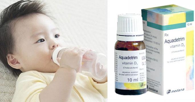 [Sự Thật] Aquadetrim Vitamin D3 Có Tác Dụng Gì? Tốt Không? Mua Ở Đâu?