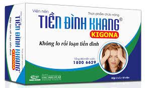 Tiền Đình Khang Kigona Có Thể Xua Tan Đau Đầu - Tạm Biệt Rối Loạn Tiền Đình Không?