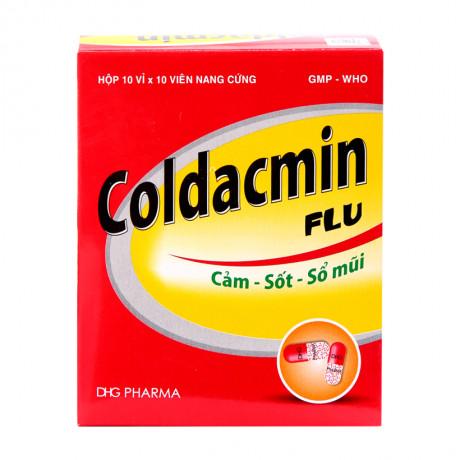 Thuốc Coldacmin Flu Có Công Dụng Gì? Hiệu Quả Không? Giá Bao Nhiêu?
