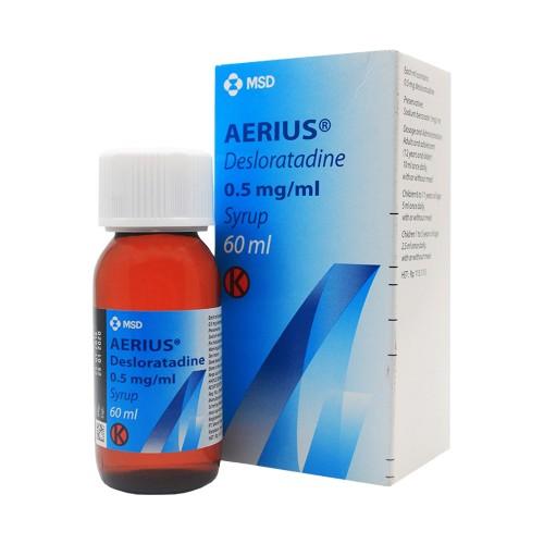 Top 3 Thuốc Điều Trị Viêm Mũi Dị Ứng Tốt Nhất Hiện Nay: Cetirizin 10mg, Aerius (0,5 Mg/ml) Và Telfast HD 180mg