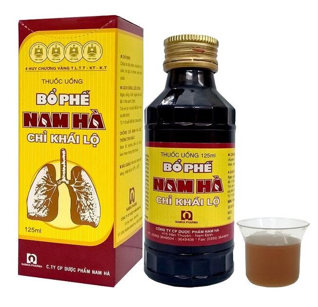 Thuốc Uống Bổ Phế Nam Hà Đặc Trị Ho Khan, Tiêu Đờm, Viêm Phế Quản HIỆU QUẢ - AN TOÀN