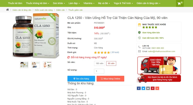 Thực Hư: Dùng CLA 1250 Sẽ 'NHANH' Mang Lại Vóc Dáng Nhỏ Xinh Hút Ánh Nhìn?