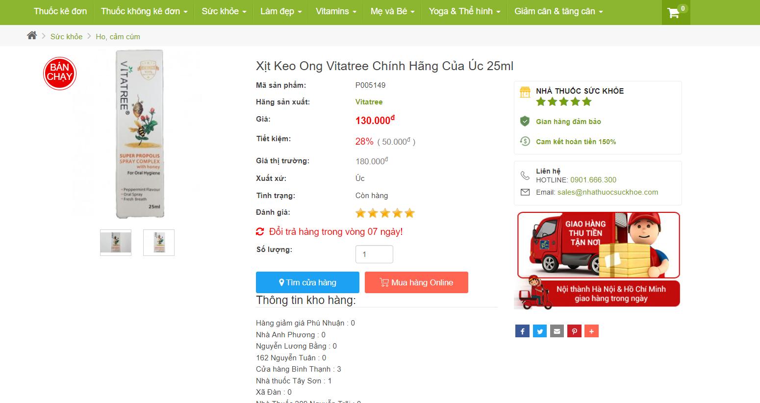 Review: Xịt Keo Ong Vitatree Có Tốt Không? Dùng Cho Trẻ Em & Bà Bầu Được Không?