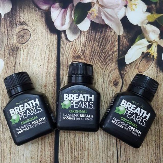 Đánh Bay 999,9% Nguyên Nhân Gây Mùi Hôi Miệng Với Viên Uống Breath Pearls