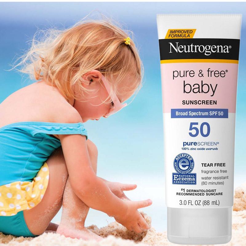 Tại Sao Cần Sử Dụng Kem Chống Nắng Neutrogena Baby Cho Bé? Ưu Điểm Và Cách Dùng?