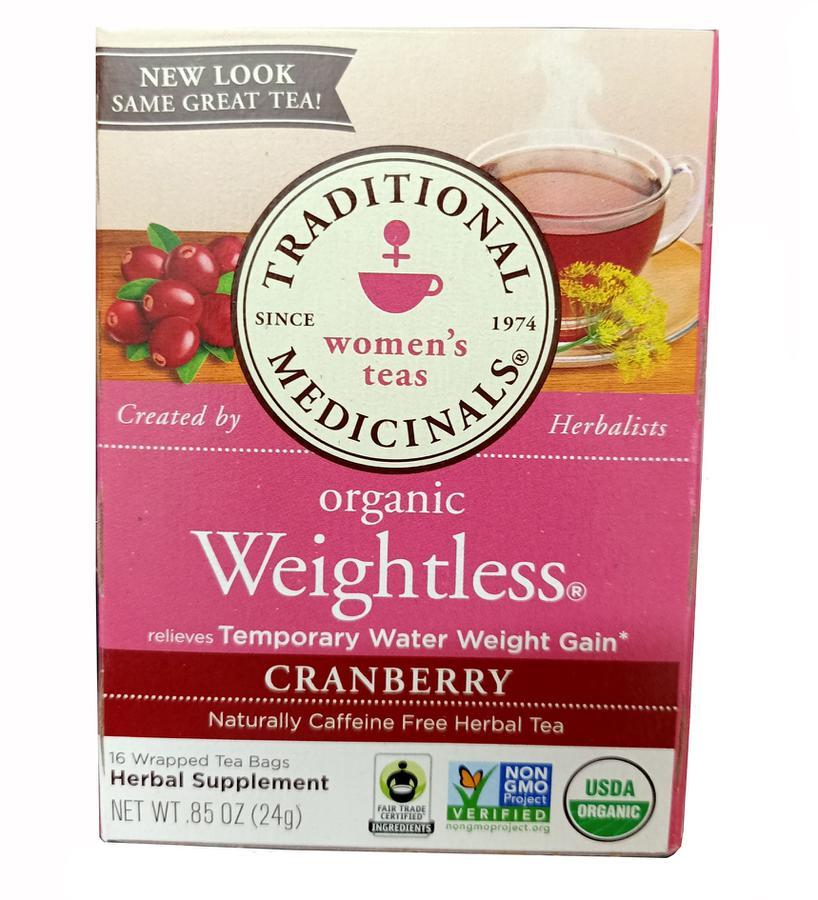 Trà Giảm Cân Organic Weightless Cranberry Có Tốt Không? Mẹ Nào Dùng Rồi Cho Em Xin Review?