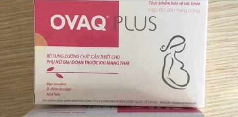Ovaq Plus – Hỗ Trợ Trứng Khỏe, Tăng Khả Năng Mang Thai – Có Tốt Không, Giá Bán, Mua Ở Đâu?