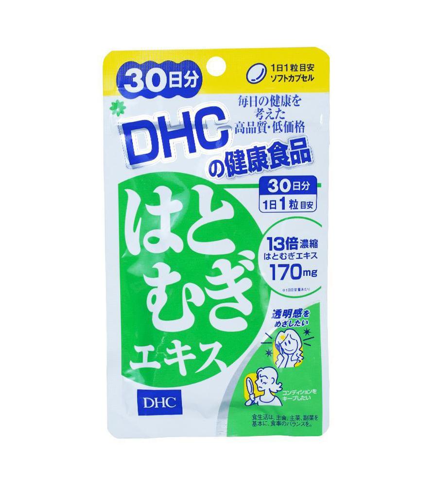 Viên Uống Coix Extract DHC Nhật Bản Hỗ Trợ Trắng Da