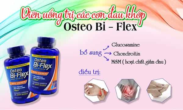 Osteo Bi Flex Triple Strength Bổ Sung Glucosamine Hiệu Quả Gấp 3 Sản Phẩm Thông Thường